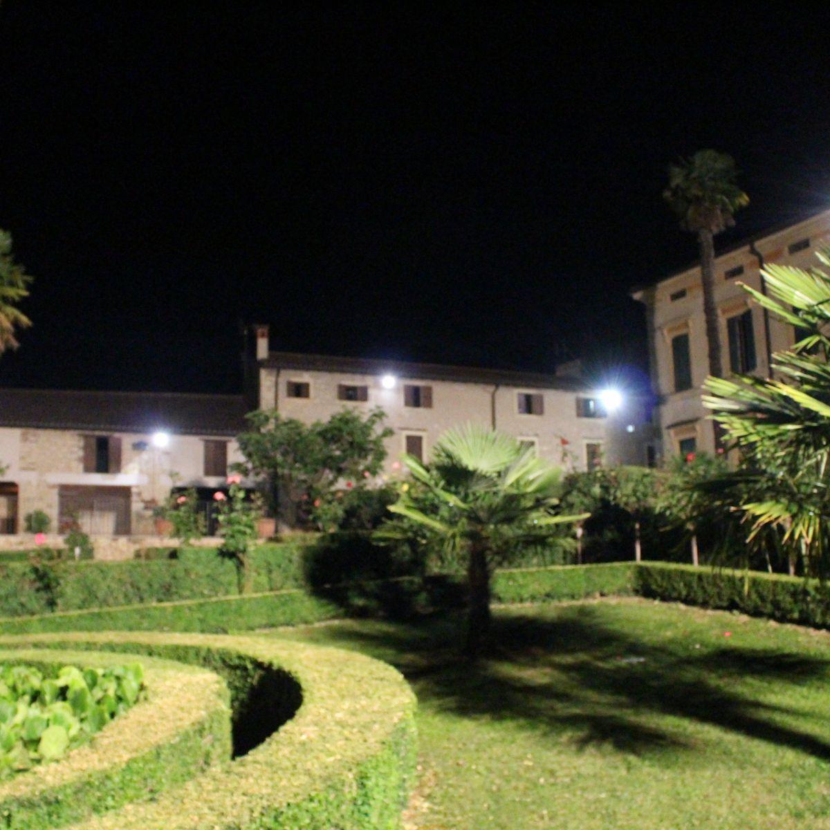 Il giardino di sera - Il giardino di ausonia ...